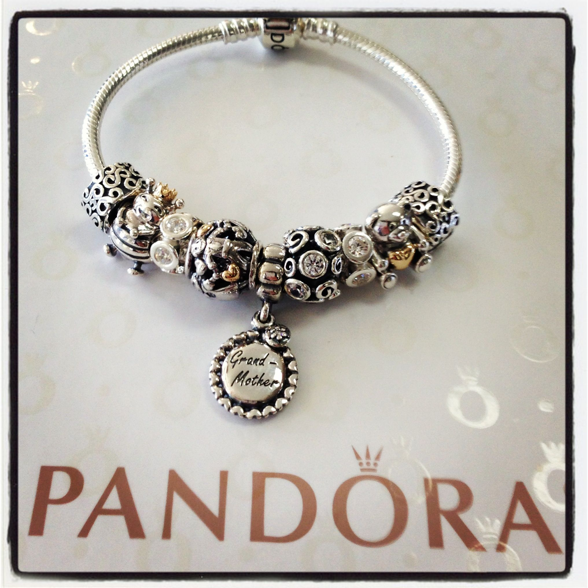 grandmother pandora charm