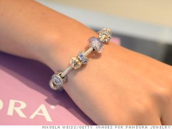 pandora braclets and charms