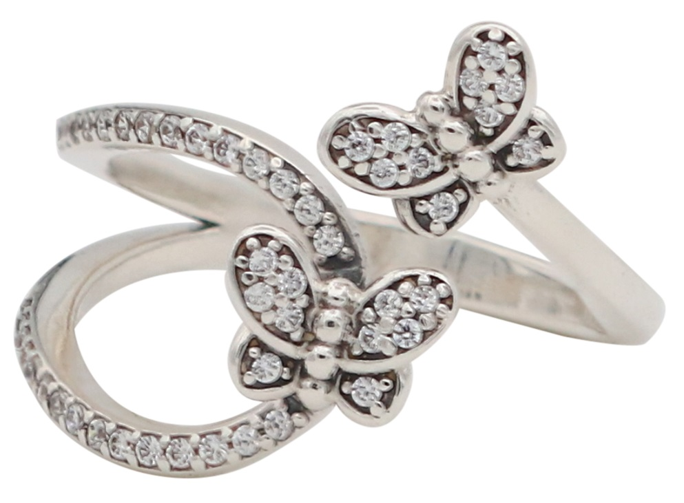 pandora butterfly ring