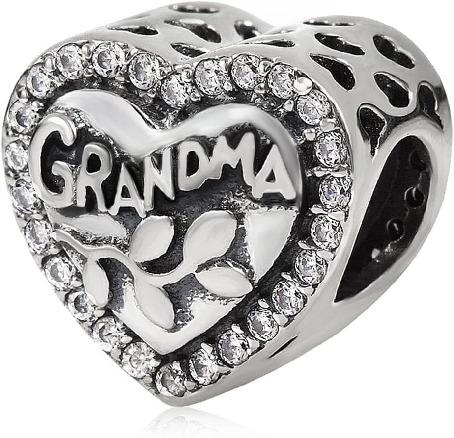 pandora charms for grandmothers