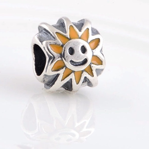pandora sunflower charm